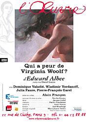 Qui a peur de Virginia woolf_affiche