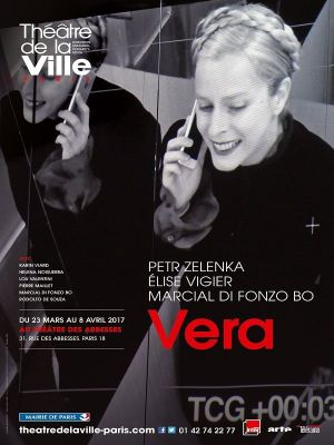 Vera, affiche Abbesses