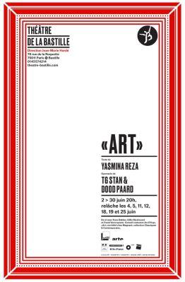 Art, Yasmina Reza, TGStan, Dood Paard, Théâtre de la Bastille, Pianopanier, revue de presse