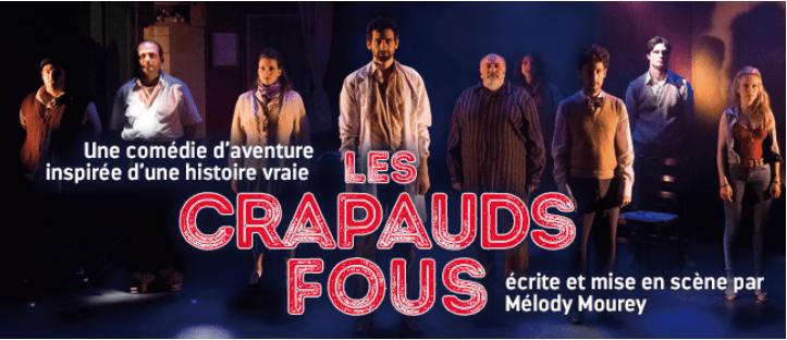 Les Crapauds fous, théâtre des Béliers parisiens, critique Pianopanier