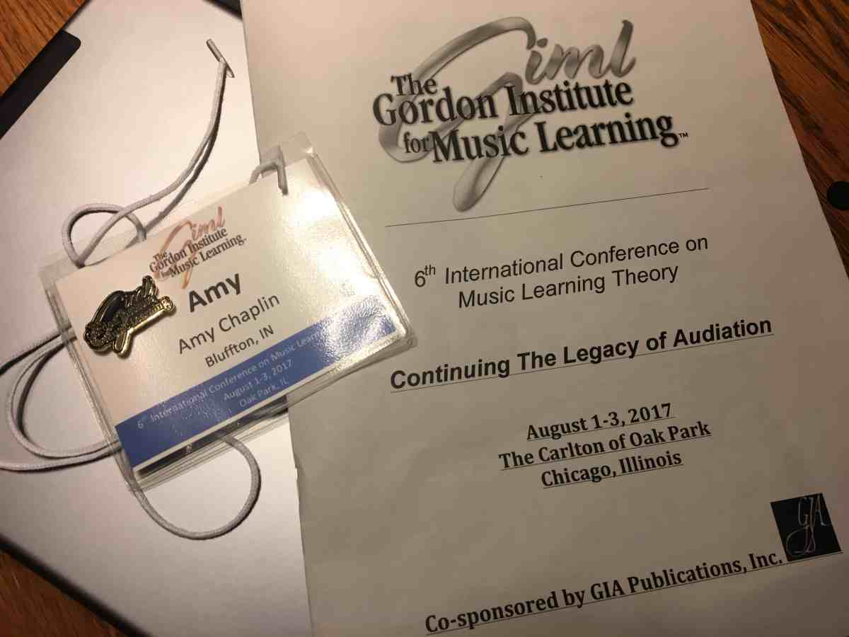 2017 GIML Conference and two piano teachers in Chicago