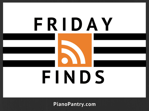 Friday Finds Piano Flip Book and Playing for Pleasure