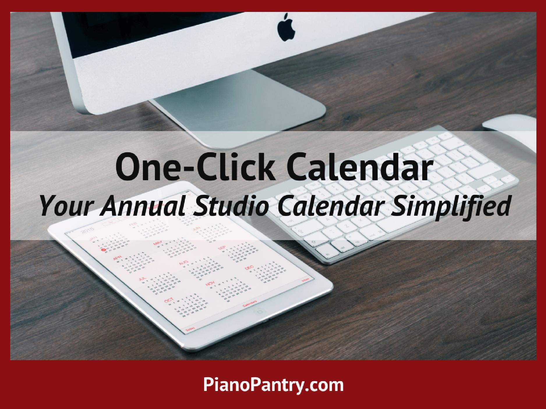 one-click-calendar