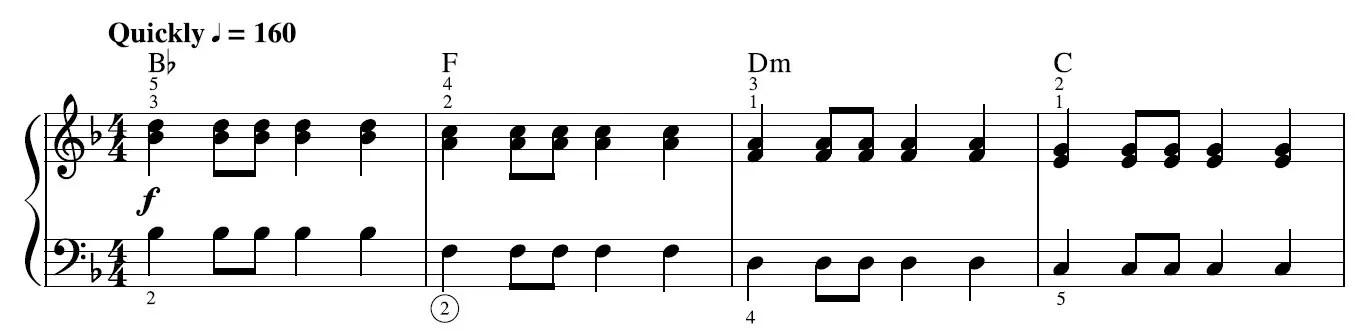 High Hopes Piano Sheet Music Example