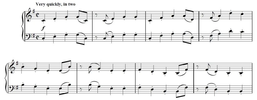 Another Day Of Sun Piano Sheet Music - Intro - Intermediate Version