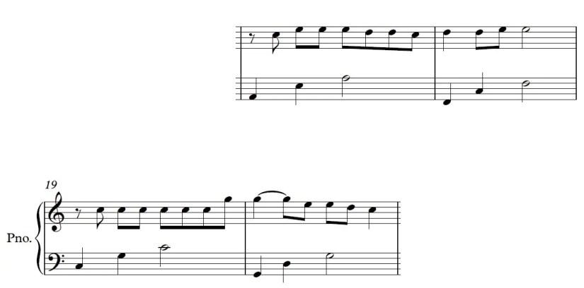 Be Alright Piano Sheet Music - Chorus - Easy Version