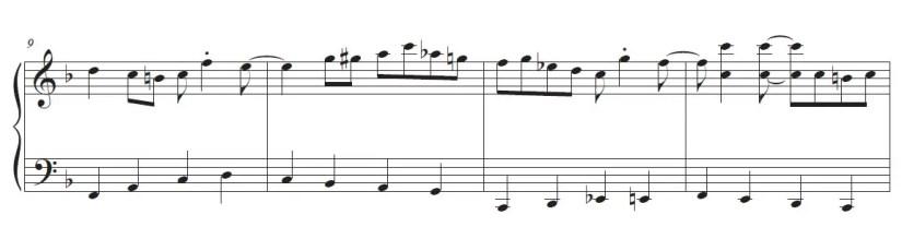 Happy Birthday Piano Sheet Music - Jazz Version (walking bass)