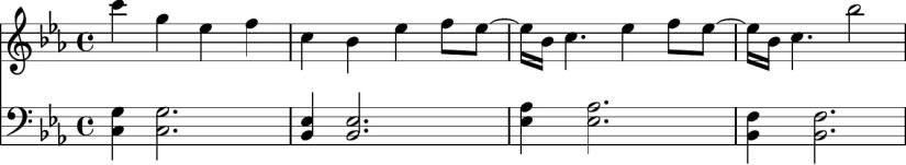 Adore You Piano Sheet Music - Verse (first 4 bars)