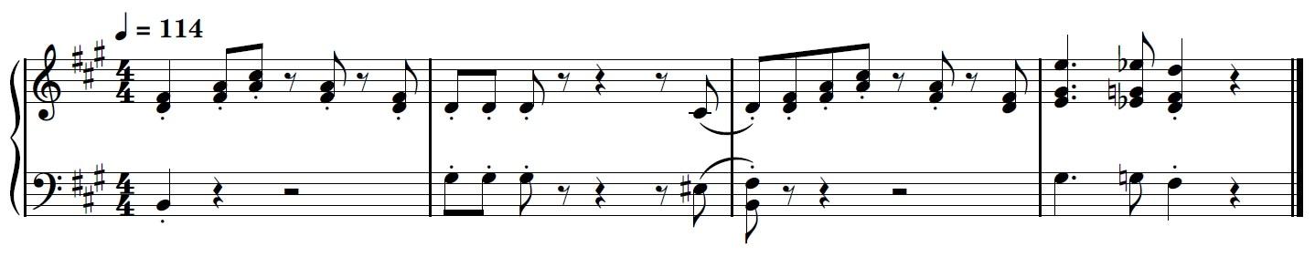 Wii Theme Piano Sheet Music - Intro