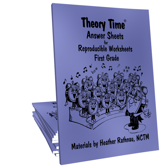 Theory Time Reproducible Series First Grade Pack