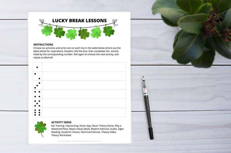 Lucky Break Lessons