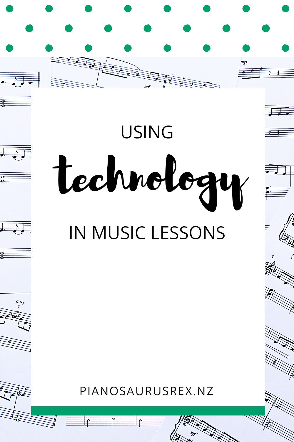 Using Technology In Music Lessons