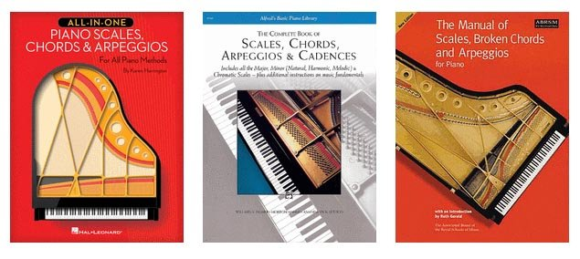 Books for Teaching Piano Scales