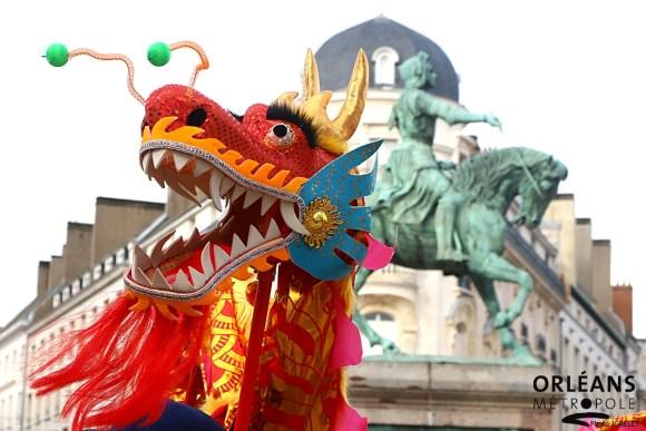 Orléans fête le nouvel an chinois 2
