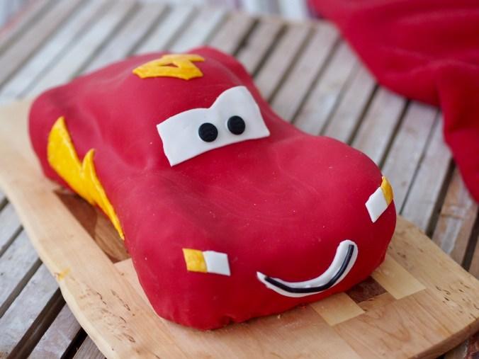 salama McQueen -kakku