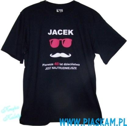 koszulka nadruk Jacek 40