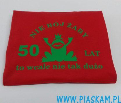 koszulka nie bój żaby 50 lat
