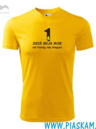 koszulka mija 1 rok