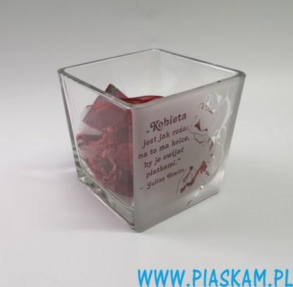 wazon_świecznik_doniczka_grawer_kobieta