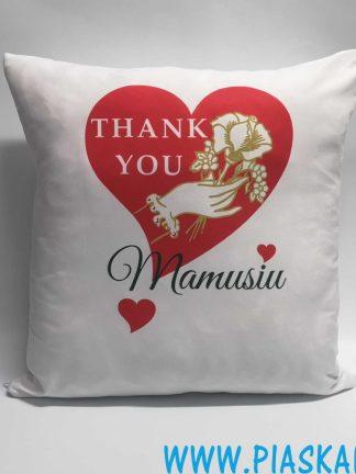 poduszka dziękuję mamusiu