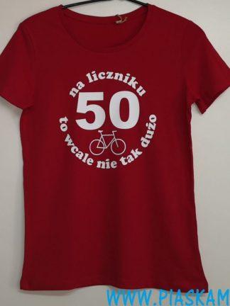 koszulka 50 na liczniku