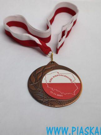 medal bieg niepodległości 2021