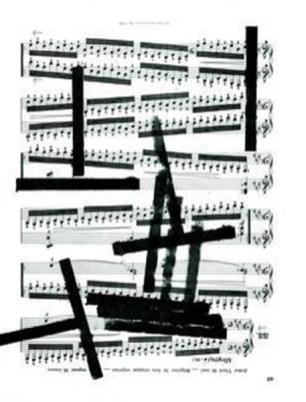 Pia Sommer - Dibujos Partiturales 38