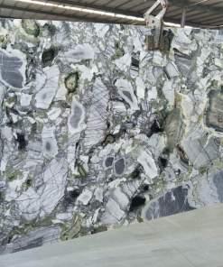 Lastre marmura Jade Ice Green