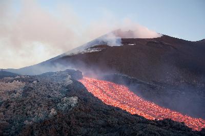 catania - la colata lavica dell'Etna
