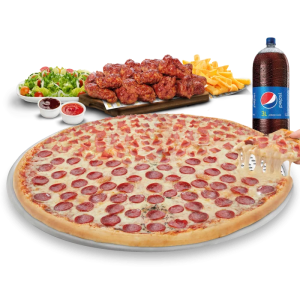 Promociones de Pizzas en Cuenca: Big Bonna Delivery Gratis Piatto Pizza Big Bonna