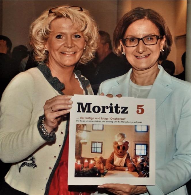 Buch Moritz Frau Renate wachauer Frau LH Mikl Leitner