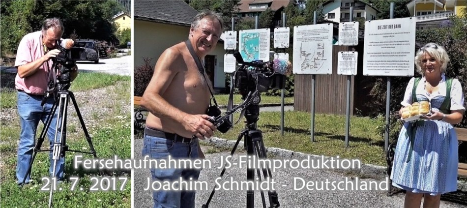 Fersehehaufnahmen Joachim Schmidt