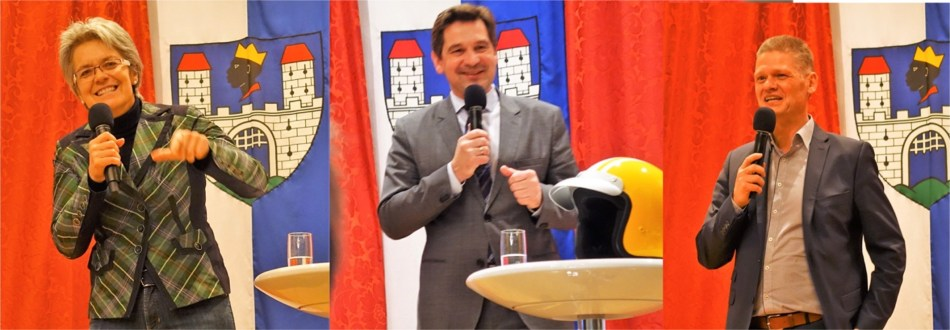 Politik mit Mobilfunk Mikrofonen