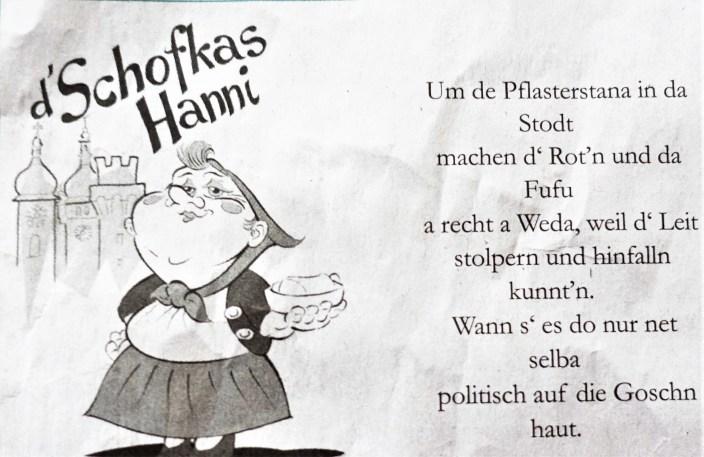 Hanni Politik Pflasterung FUZO 26.7.2018