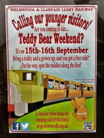 Plakat Teddybär