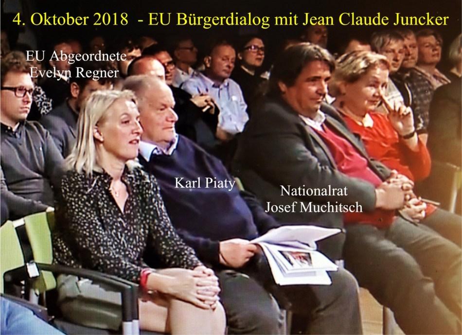 Juncker Diskussion 1. Reihe