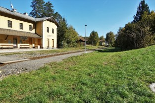 Lokalbahnhof Waidhofen 5.10.2018 5