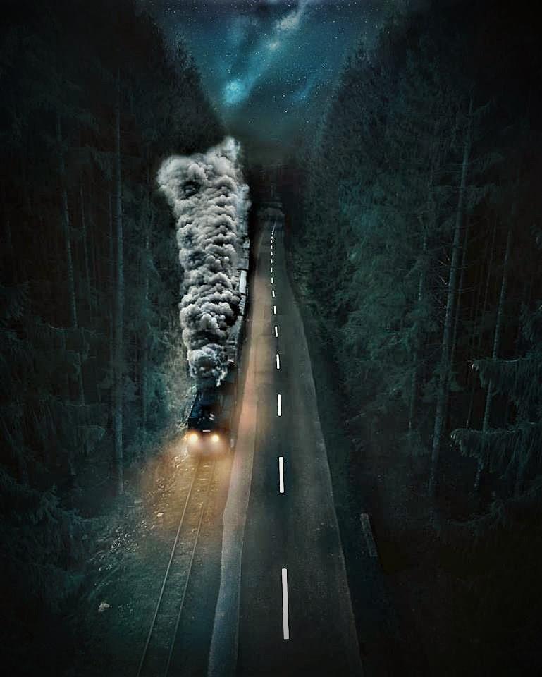 Dampffahrt in Rumänien