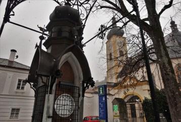 Wetterhäuschwen Instrumente Kirche