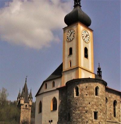 Kirche und Lutherturm