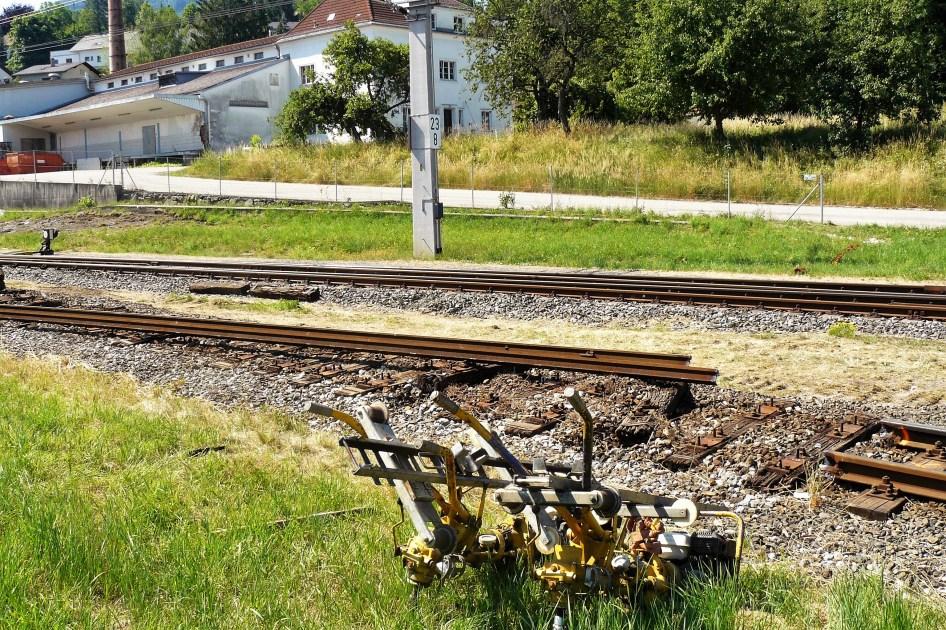 Wachauer Citybahn Baustelle