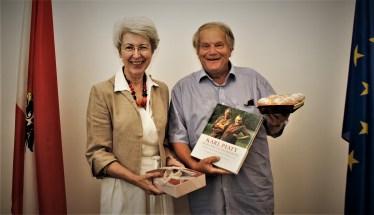 Dolenc Foto Ministerin und Piaty