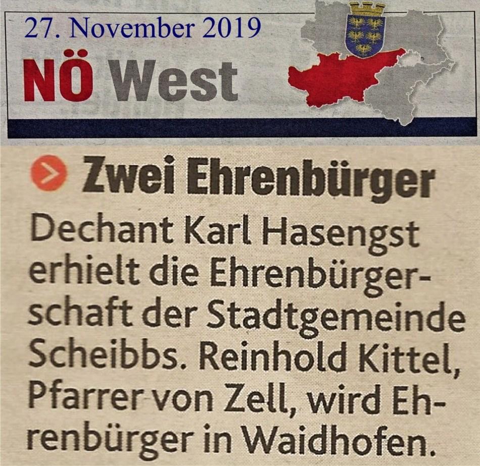 Kronenzeitung Kittl Ehrenbürger