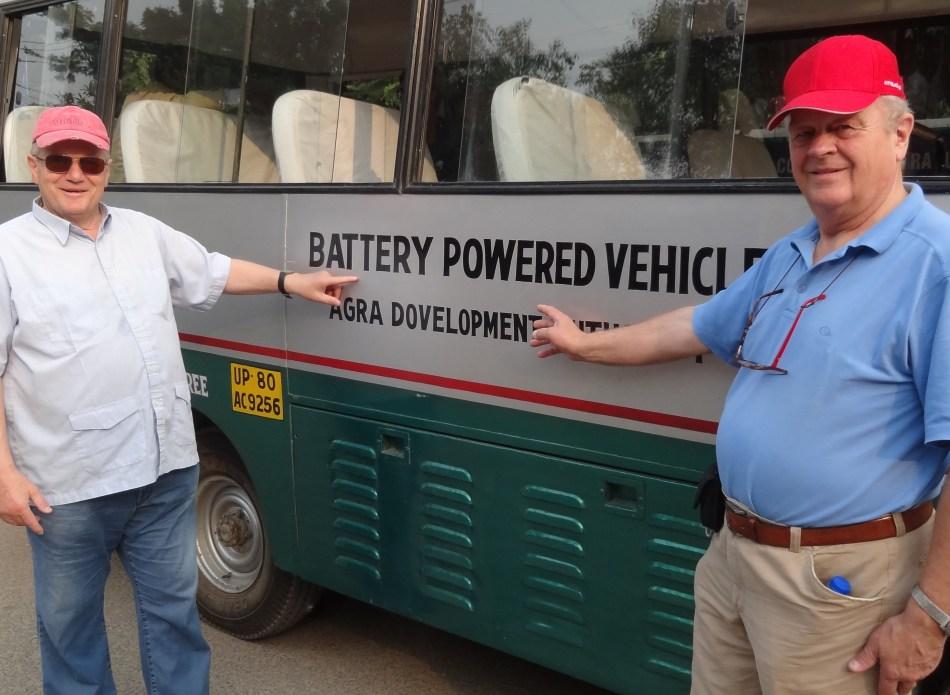 Taj Mahal Batterie - Vehicle