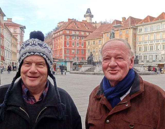 Karl und Karl Graz 27.1.2015