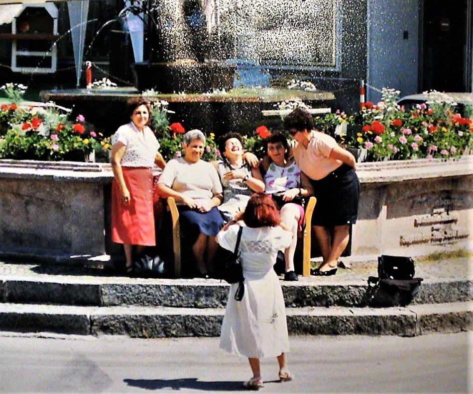 Blumen Brunnen Bankerl 1998