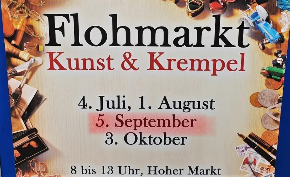 Kunst und Krempel 5. September