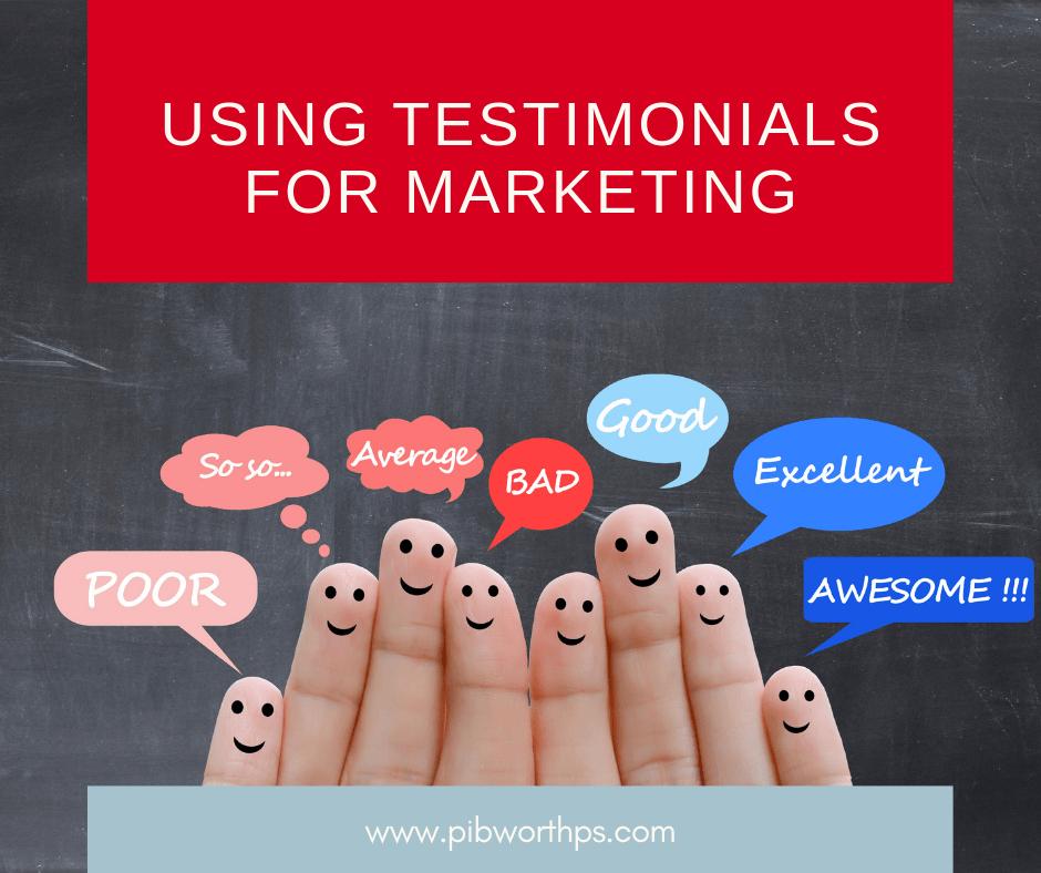 testimonial marketing