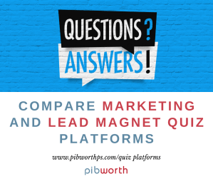 Compare marketing and lead magnet quiz platforms