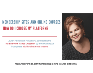Membership Sites and Online Courses What's the best platform?
